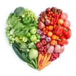 heart, healthy food