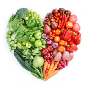 heart, healthy food