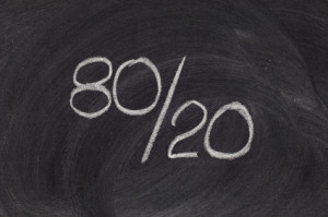 The 80-20 Rule Applied To Your Health